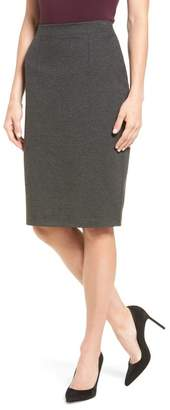 Halogen Ponte Pencil Skirt (Regular & Petite)