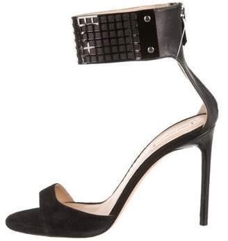 Reed Krakoff Suede Ankle Strap Sandals