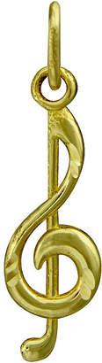 FINE JEWELRY 10K Yellow Gold Music Note Charm