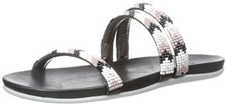 Kenneth Cole REACTION Women's Slim Shotz Flat Sandal $49 thestylecure.com