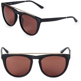 Smoke X Mirrors Road Runner 53MM Browline Sunglasses