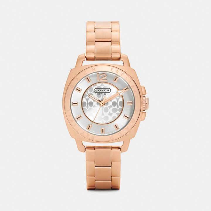 Coach Mini Boyfriend Bracelet Watch
