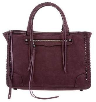 Rebecca Minkoff Leather Regan Satchel Tote