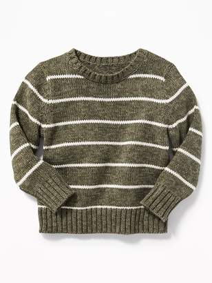 Old Navy Striped Crew-Neck Sweater for Toddler Boys