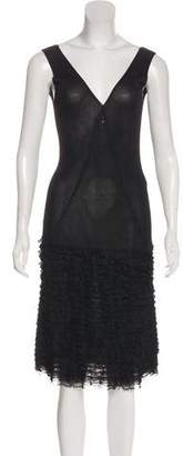 Chanel Knit Midi Dress