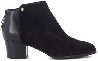 Hogan H314 Suede And Leather Ankle Boots