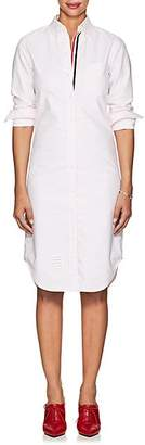Thom Browne Women's Cotton Oxford Cloth Button-Down Shirtdress - Pink