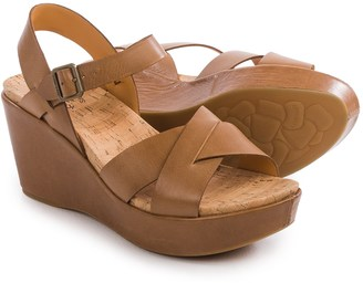 Kork-Ease Ava 2.0 Wedge Sandals - Leather (For Women) $79.99 thestylecure.com