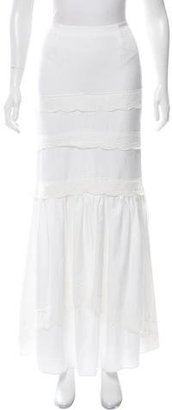 Alice by Temperley Eyelet-Accented Maxi Skirt w/ Tags $180 thestylecure.com