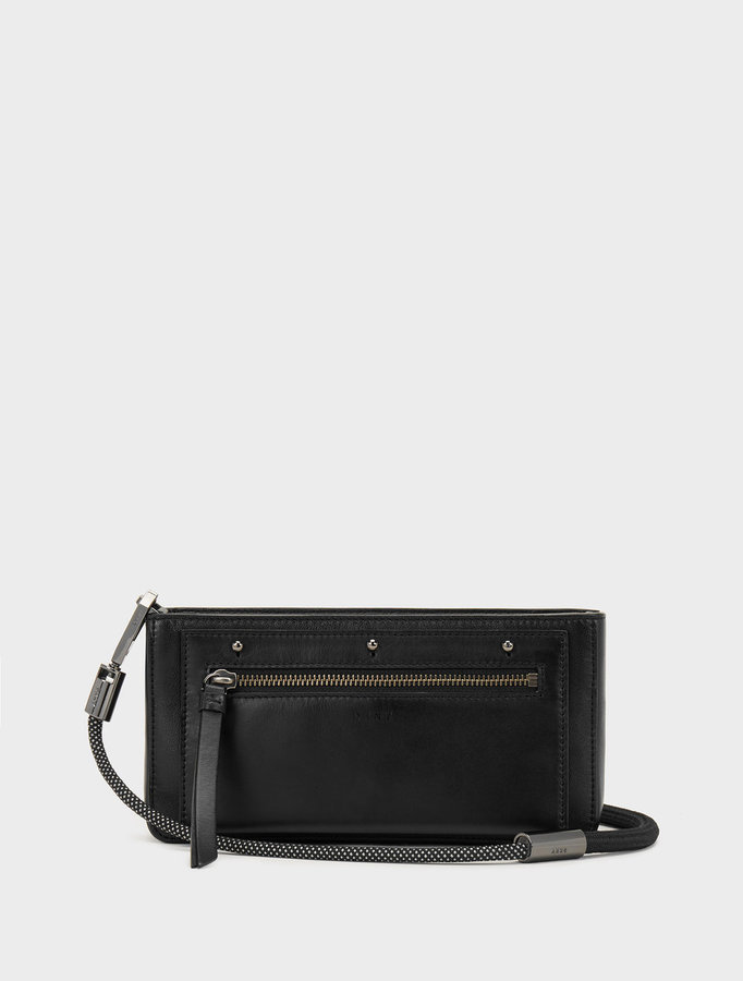 DKNY Small Bungee Rope Crossbody With Removable Pouch