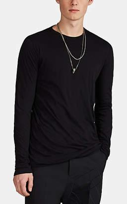 Rick Owens Men's Layered Cotton Jersey T-Shirt - Black