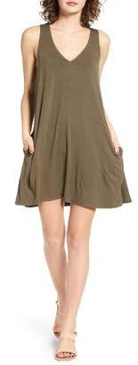 Women's Socialite Pocket Tank Dress $34 thestylecure.com