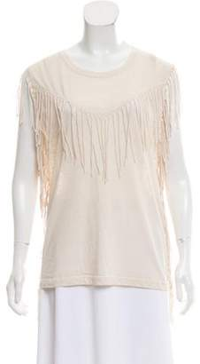 IRO Sleeveless Fringe Top