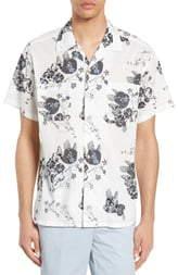 Life After Denim Royal Botanical Print Shirt