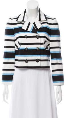 Dolce & Gabbana Striped Double-Breasted Jacket w/ Tags