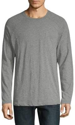 2xist Heathered Long-Sleeve Tee