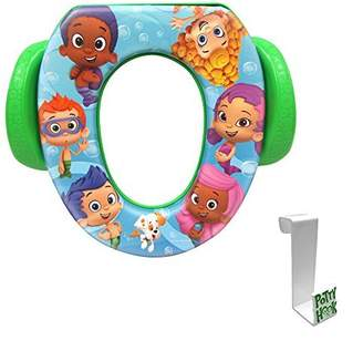 Ginsey Bubble Guppies Soft Potty Seat with Toilet Tank Potty Hook