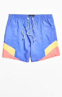 PacSun Colorblock Nylon Volley Shorts
