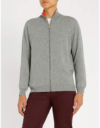 Paul Smith Zip-fastened cashmere jumper