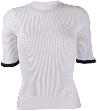 See by Chloe twist knit top