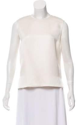 Calvin Klein Collection Sleeveless High-Low Top