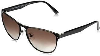 Elie Tahari Women's EL 203 BLK Wayfarer Sunglasses