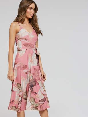 Portmans Australia Sweet Escape Wrap Midi Dress