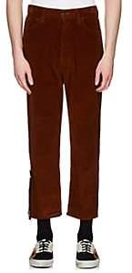 "Palm Angels Men's ""New Modern"" Corduroy Pants - Brown"