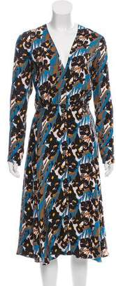 Creatures of the Wind Printed Button-Up Dress