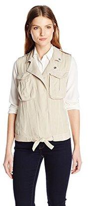 Kensie Jeans Women's Utility Cargo Vest $68 thestylecure.com