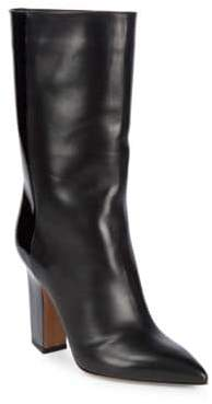 Valentino Patent Leather Pointed Booties