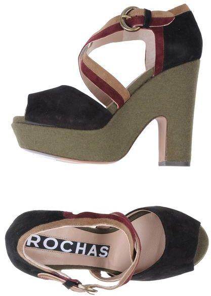 Rochas Platform sandals