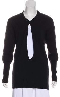 Zero Maria Cornejo Cashmere Long Sleeve Sweater