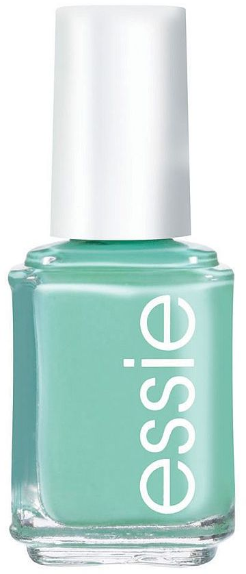 Essie nail color Polish, turquoise and caicos