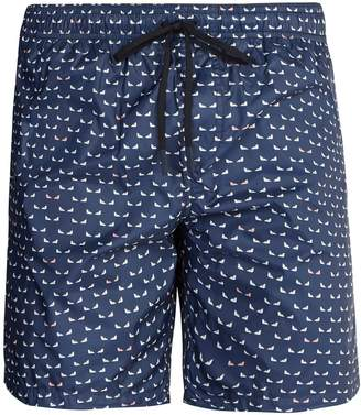 Fendi Micro Bag Bugs-print swim shorts