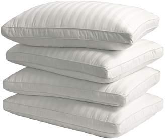 Royal Majesty 4-pk. 350 Thread Count Damask Stripe Cotton Down Alternative Pillows