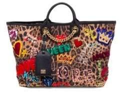 Dolce & Gabbana Leopard Print Day Shopper