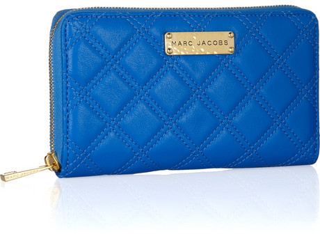 Marc Jacobs Hudson quilted leather wallet