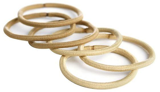 Goody® ColourCollectionTM Ouchless® Elastics Blonde 10 Pack