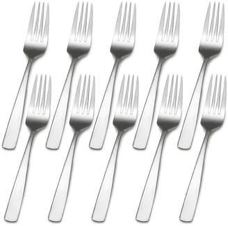Gourmet Basics Set of 10 Dinner Forks