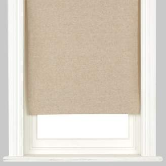 John Lewis & Partners Natural Canvas Blackout Roller Blind