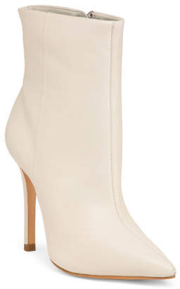 Made In Brazil Leather Stiletto Boots