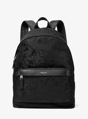Michael Kors Kent Floral Nylon Jacquard Backpack
