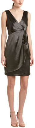 Nanette Lepore Satin Sheath Dress