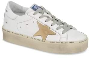 Golden Goose Metallic Star Low Top Sneaker