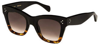 Celine Two-Tone Gradient Cat-Eye Sunglasses