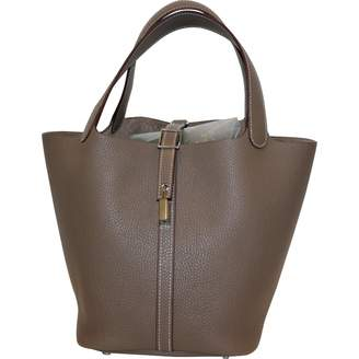 3db74bf50e71 ... sale pre owned at vestiaire collective hermes picotin leather bag a2a3a  04635