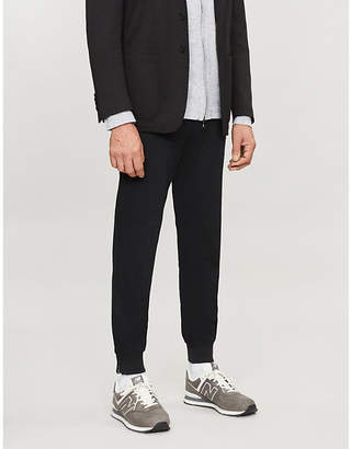 Corneliani Zipped-cuff slim-fit woven trousers