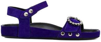 Isabel Marant crystal buckle sandals