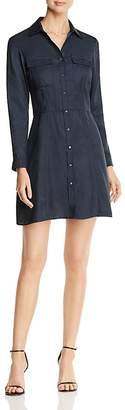 Scotch & Soda Long Sleeve Mini Shirt Dress